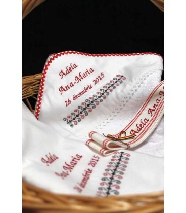 Trusou botez traditional personalizat Bucovina