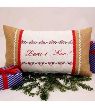 Cadou perna decorativa personalizata traditionala Ler
