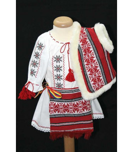 More about Costum botez traditional fetite complet Victoria