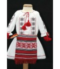 Costum botez traditional fetite complet Victoria