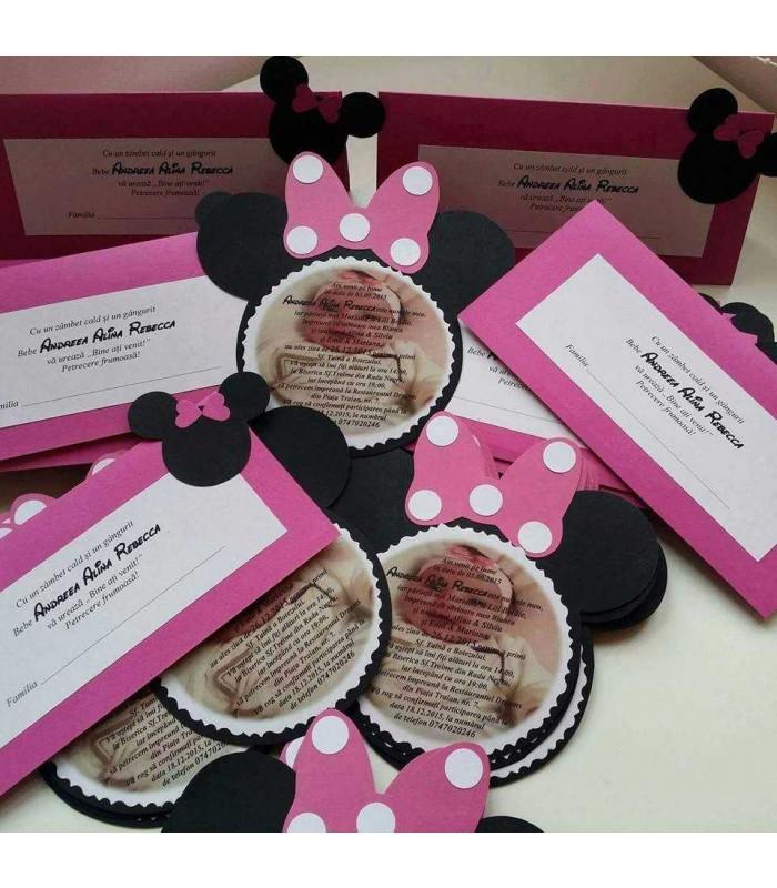 Trusou Botez Minnie Mouse Personalizat Complet Atelierele Cris