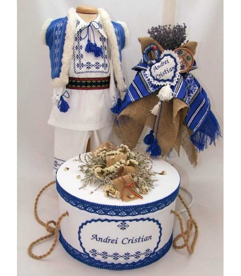 Trusouri botez traditionale - Trusou botez traditional baieti complet tr44