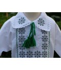 Hainute botez traditionale baieti stelute verde gri