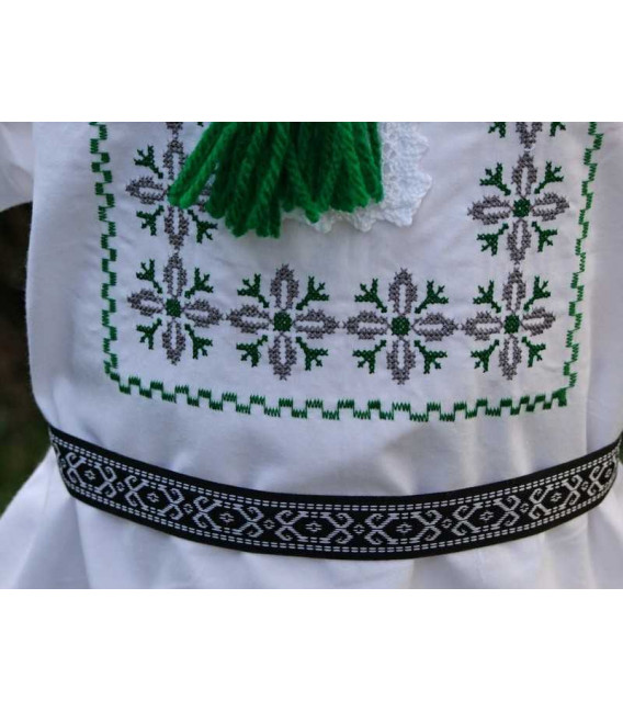 Hainute botez traditionale baieti stelute verde gri