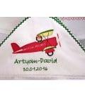Trusou botez personalizat avion Artyom David