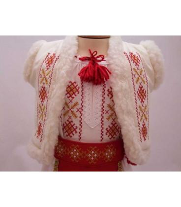 Costum national botez fetite Banat