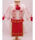 Costum national botez fetite Banat