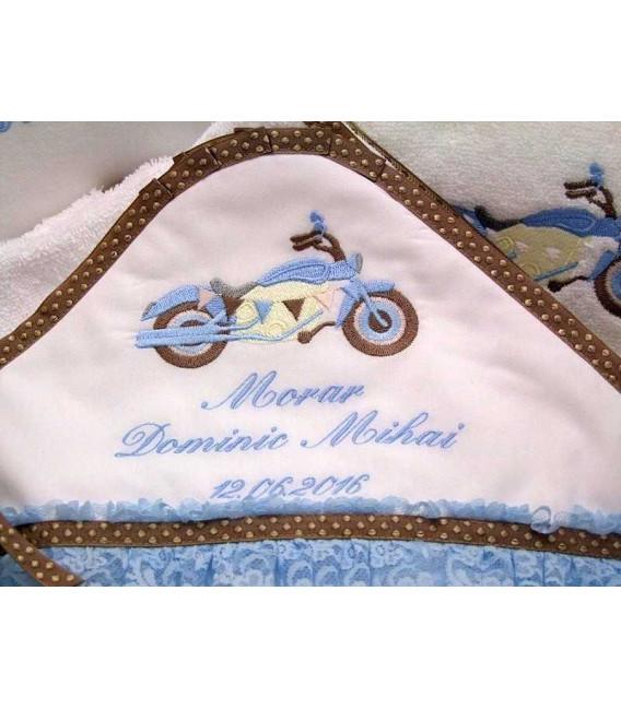 Trusou botez complet motocicleta - pachet produse