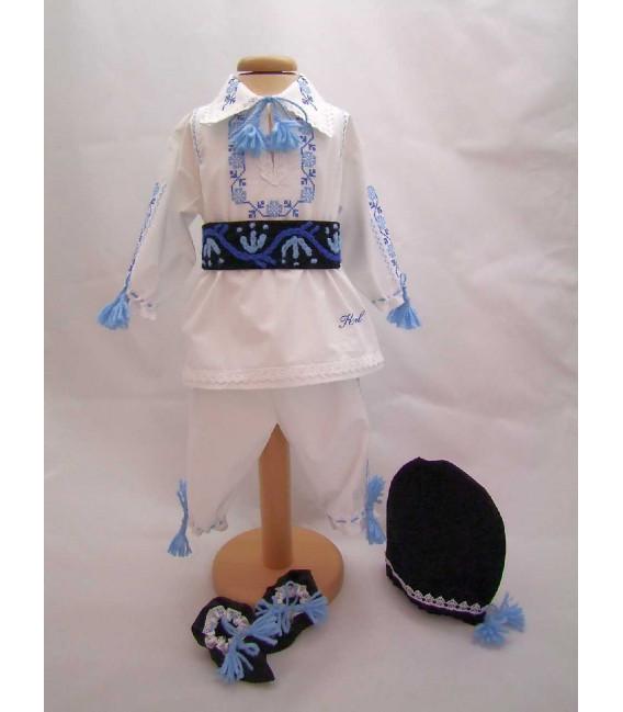 Costum national botez baieti Tudor