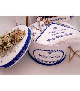 More about Trusou botez traditional albastru baieti sibiu
