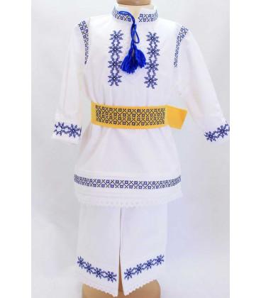 Costum popular botez Vlad