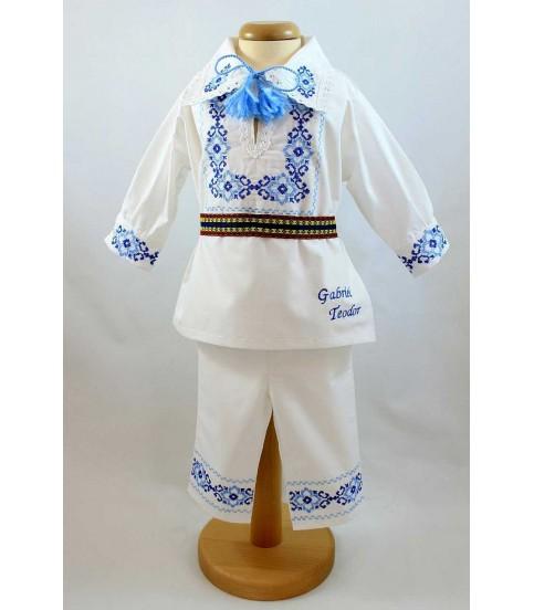 Costum Popular botez baieti Gabriel