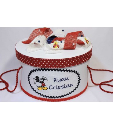 Cutie trusou botez personalizata Mickey Mouse
