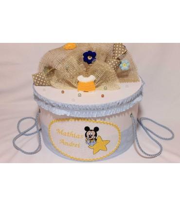 Cutie trusou botez baby Mickey Mouse
