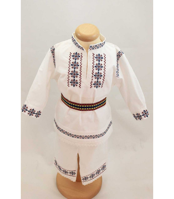 Costum botez baieti traditional Beniamin