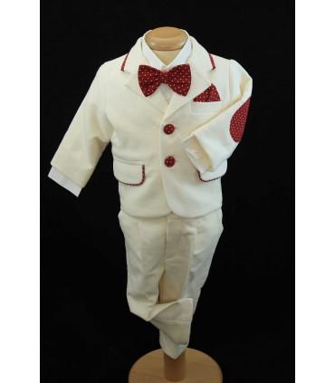 Costum personalizat botez baiat Matei