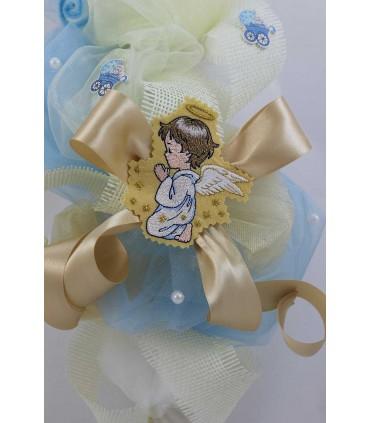 Lumanare botez personalizata ingerasul Rafael
