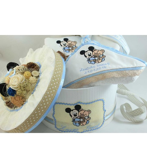 Trusou botez bebe Mickey Mouse si ursulet