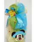 Lumanare botez personalizata Mickey Mouse Palarie