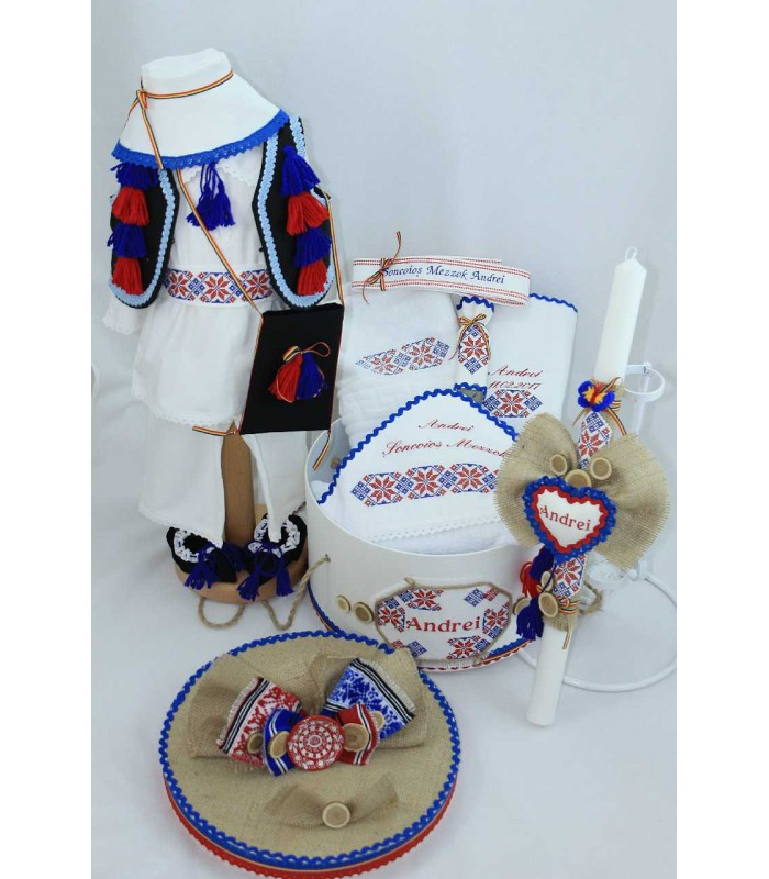 Trusou Botez Complet Baieti Traditional Morosan Atelierele Cris