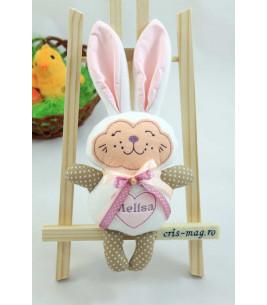 More about Jucarie iepuras handmade cu inimioara personalizata