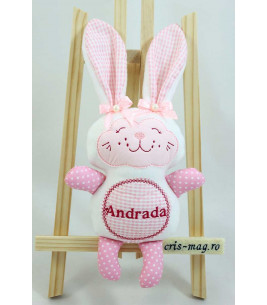 More about Jucarie personalizata cadou de Pasti iepuras handmade Andrada