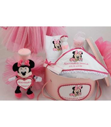 Trusou botez fetite Minnie Mouse set complet producator Atelierele Cris  1,199.00