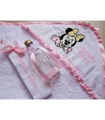Trusou botez personalizat Baby Minnie Mouse