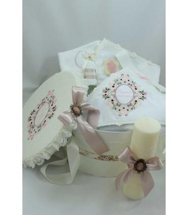 Trusou Botez Camee pentru fetite set Complet