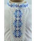 Costum popular botez baieti de vara culoare albastra