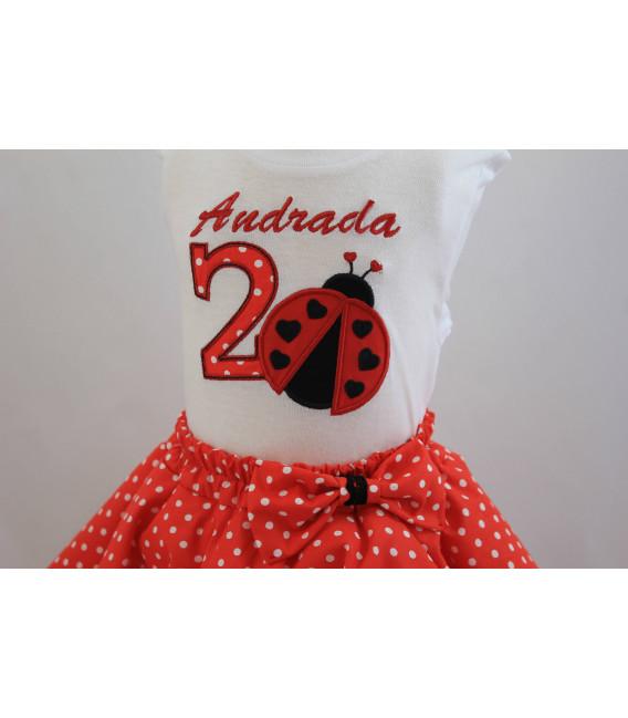 Set rochita aniversara 2 ani Andrada