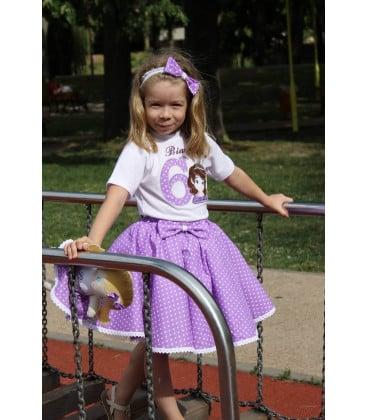 Set rochita aniversara printesa Sofia