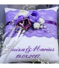 Perna verighete personalizata lila dream
