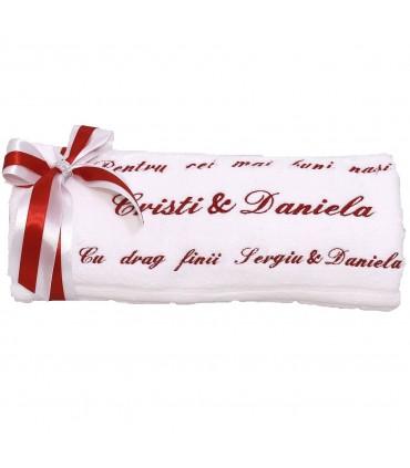 Prosop Personalizat - Cadou pentru nasi de cununie