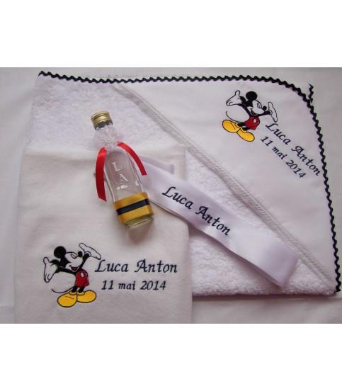 """Trusou botez  personalizat """"Mickey Mouse"""""""