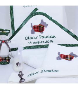 More about Trusou botez personalizat catelusul scotian