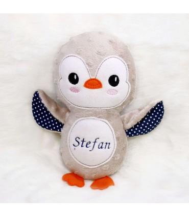 Jucarie personalizata cadou pinguinul Stefan