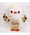 Jucarie personalizata cu nume model pinguin Sofia