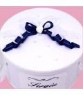 Cutie botez alba personalizata cu nume
