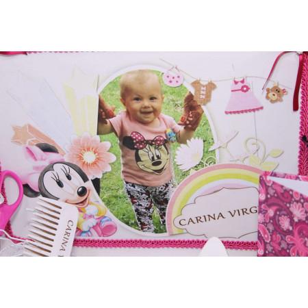 Set personalizat taierea motului pentru fetite Carina