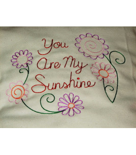 Perna decorativa you are my sunshine