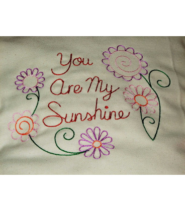 Perna decorativa you are my sunshine