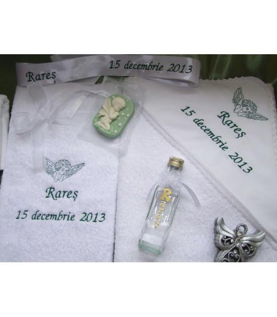 Trusou botez personalizat un Ingeras