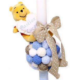 More about Lumanare botez Winnie the Pooh cu gheme