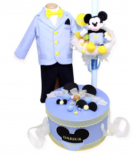 More about Trusou botez personalizat complet baiat Baby Mickey cu jucarie