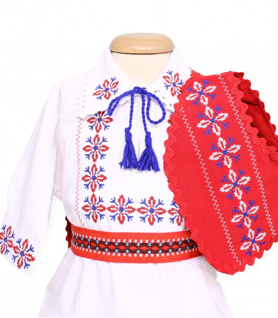 Trusouri botez traditionale - Trusou botez traditional complet badita Ioan