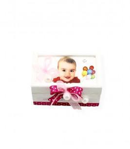 More about Cutie prima suvita din lemn fetite cu poza