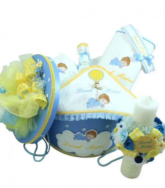 Trusou botez complet bebe optimist