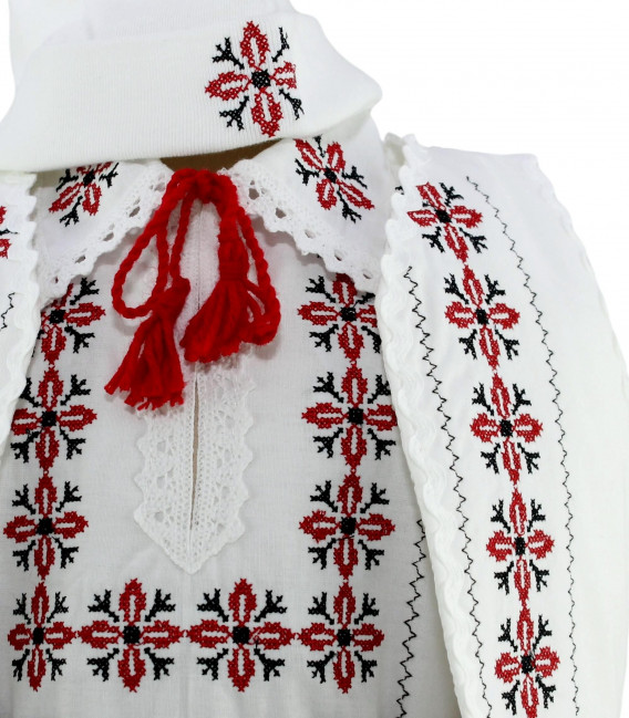 Trusouri botez traditionale - Trusou botez traditional complet stelute