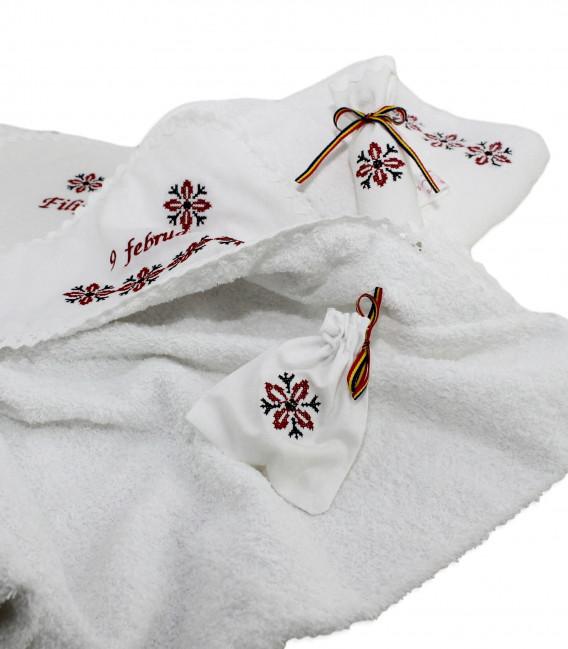 Trusouri botez traditionale - Trusou botez traditional complet stelute